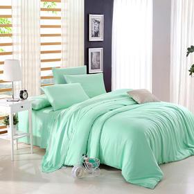 南通家纺网 床上用品 欧式纯色新款80支天丝四件套 支持定做代发