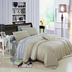 南通家纺网 床品用品 欧式纯色简约80天丝四件套 可定做代发批发
