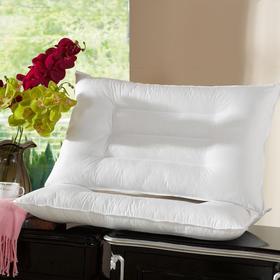 南通家纺网 保健护颈枕 防羽布定型护颈枕